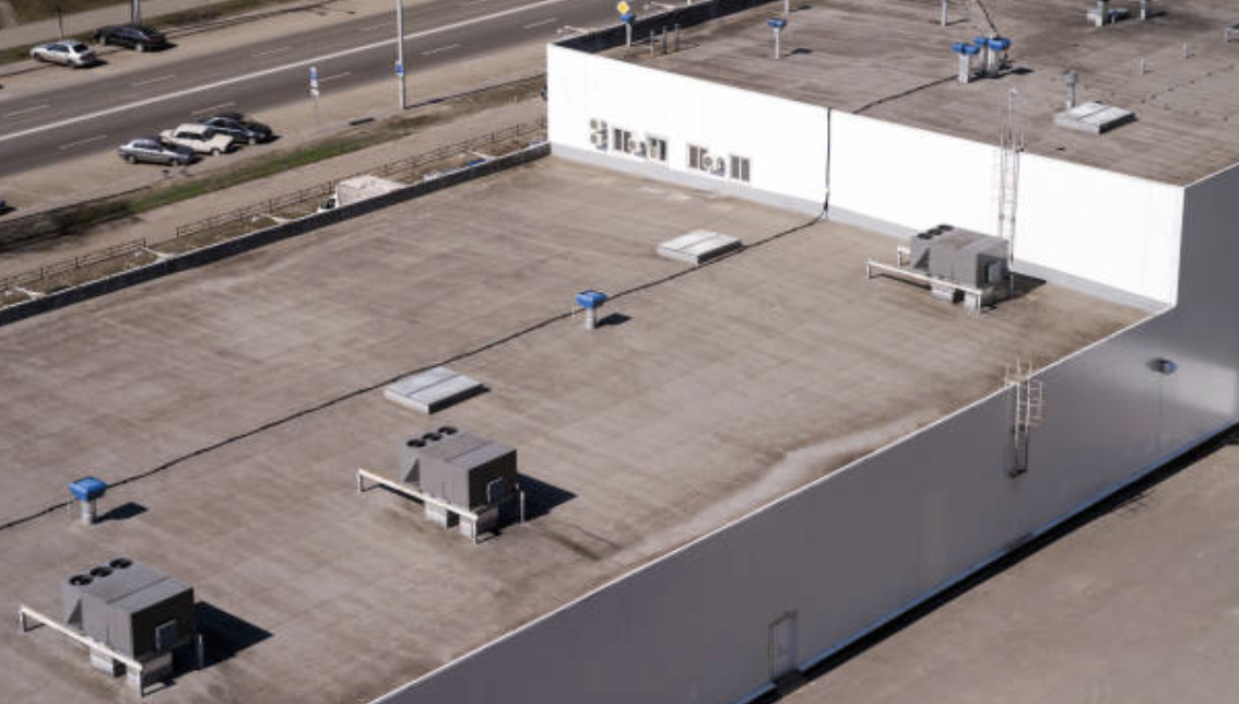 commercial roof repair job  Ontario CA